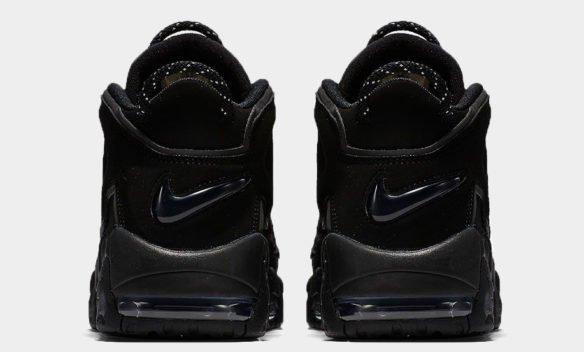 Фото Nike Air More Uptempo черные - 2