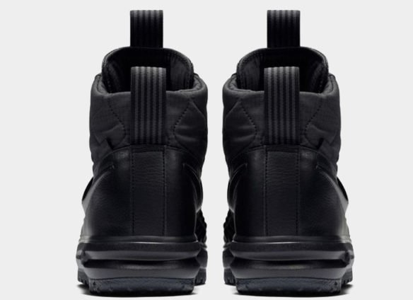 Фото Nike Lunar Force 1 Duckboot черные - 2