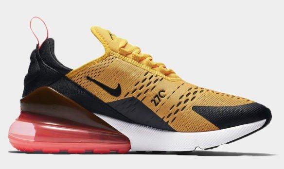 Фото Nike Air Max 270 желтые - 3